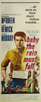 Baby The Rain Must Fall Original US Insert