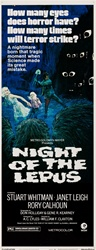 Night Of The Lepus Original US Insert