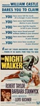 The Night Walker Original US Insert