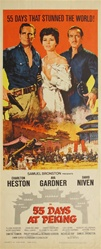 55 Days at Peking Original US Insert