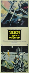 2001 A Space Odyssey Original US Insert