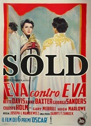 All About Eve Italian 2 Sheet