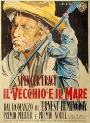 Old Man and the Sea Italian 2 Sheet