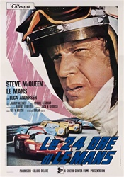 Le Mans Italian 4 Sheet