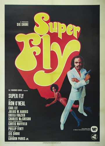 6463a837009 Superfly Italian 2 Sheet Vintage Movie Poster