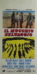 The Wild Bunch Original Italian Locandina