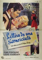 Letter From An Unknown Woman Original Italian 4 sheet