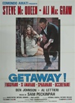 The Getaway Original Italian 2 Sheet