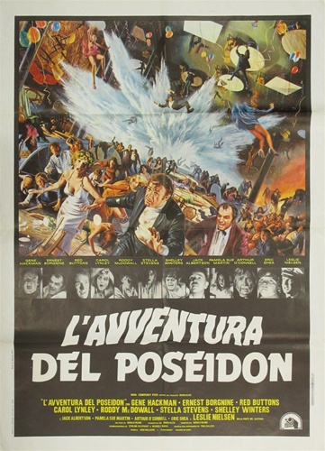 The Poseidon Adventure Original Italian 2 Sheet