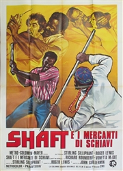 Shaft In Africa Original Italian 2 Sheet