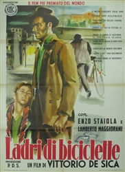 The Bicycle Thief Original Italian 4 Sheet