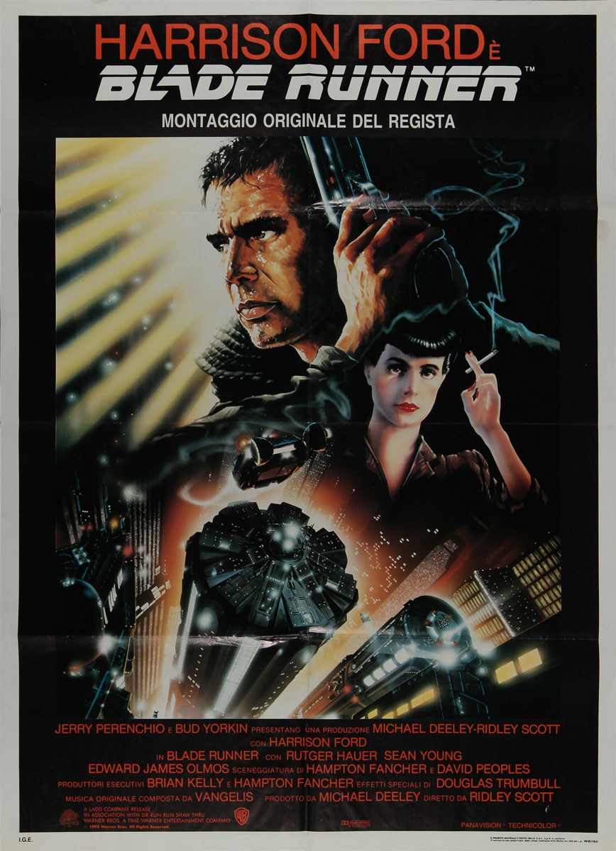Bladerunner Original Italian 2 Sheet Vintage Movie Poster ... - photo#27