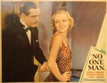No One Man Original US Lobby Card