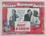 Key Largo Original US Lobby Card Set of 8