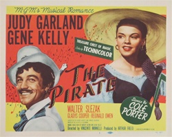The Pirate Original US Lobby Card Set of 8