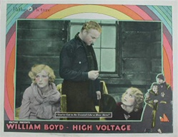 High Voltage Original US Lobby Card