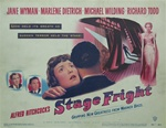Stage Fright Original US Lobby Card Set of 8