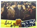 Mr. And Mrs. Smith Original US Lobby Card