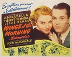 Wings Of The Morning Original US Title Lobby Card