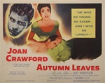Autumn Leaves Original US Title Lobby Card