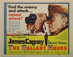 The Gallant Hours Original US Title Lobby Card