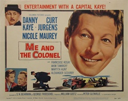 Me And The Colonel Original US Title Lobby Card