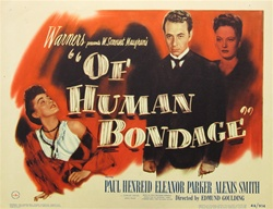 Of Human Bondage Original US Title Lobby Card