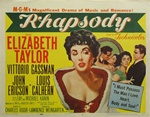Rhapsody Original US Title Lobby Card