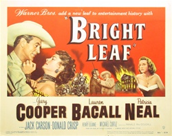 Bright Leaf Original US Title Lobby Card