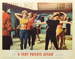 A Very Private Affair Original US Lobby Card Set of 8