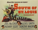 South Of St. Louis Original US Title Lobby Card