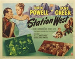 Station West Original US Title Lobby Card