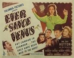 Ever Since Venus Original US Title Lobby Card