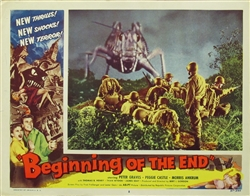Beginning Of The End Original US Lobby Card