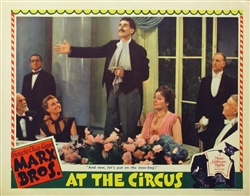 At The Circus Original US Lobby Card