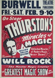 Thurston's Miracles of Magic Original Magic Poster