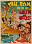 La Isla De Las Mujeres Original Mexican One Sheet