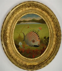 Scott Musgrove Blackmouth Catfish Original Painting