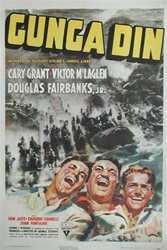 Gunga Din Original US One Sheet