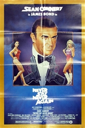 Never Say Never Again Original US One Sheet