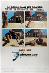 Heaven With A Gun US Original One Sheet