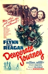 Desperate Journey Original US One Sheet