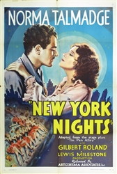 New York Nights Original US One Sheet