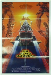 The Road Warrior Original US One Sheet