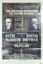 Papillon Original US One Sheet
