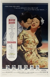 Sayonara Original US One Sheet
