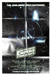 Star Wars Empire Strikes Back Original US Advance One Sheet