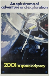 2001 A Space Odyssey Original US One Sheet
