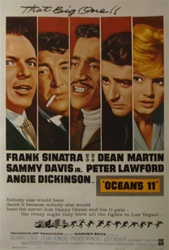 Ocean's 11 Original US One Sheet
