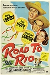 Road To Rio Original US One Sheet